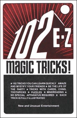 102 EZ Magic Tricks by David Robbins