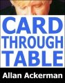 Card Through Table