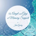 An Angel and Gigi at Memory Support by John Gurley