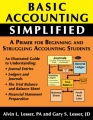 Basic Accounting Simplified by Gary S. Lesser & Alvin L. Lesser