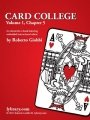 Card College 1: Chapter 05 by Roberto Giobbi