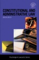 Constitutional and Administrative Lawcards 2010-2011 by Routledge