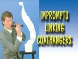 Impromptu Linking Coat Hangers by Mike Caveney