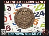 Kalendar Clairvoyance by Unknown Mentalist