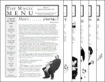 Magic Menu volume 6 by Jim Sisti