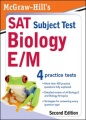 McGraw-Hill's SAT Subject Test: Biology E/M, 2/E by Stephanie Zinn