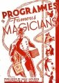 Programmes of Famous Magicians by Max Holden