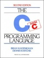 C Programming Language by Brian W. Kernighan & Dennis M. Ritchie