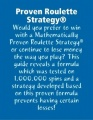 Proven Roulette Strategy by Ryan Conrad