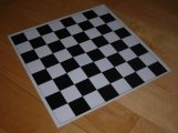 "Small Silicone Chess Board (10"" x 10"")"