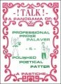 Talk: palaver and patter