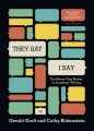 """They Say / I Say"": The Moves That Matter in Academic Writing (Third Edition) by Gerald Graff & Cathy Birkenstein"