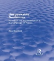 Unspeakable Sentences (Routledge Revivals): Narration and Representation in the Language of Fiction by Ann Banfield