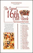 The Second 16th Card Book: Volume 1 by Tom Craven & Paul Gordon