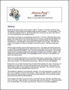 Abraca-Poof March 2017 by Brian T. Lees
