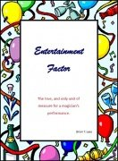 Entertainment Factor by Brian T. Lees