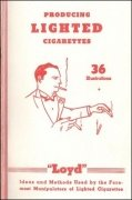 Producing Lighted Cigarettes by Edward Loyd Enochs