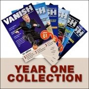 Vanish Magazine Year 1 by Paul Romhany