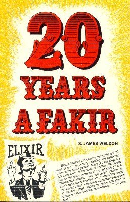 20 years a fakir by s james weldon