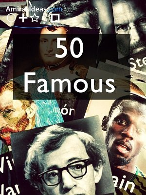 50 Famous by Pablo Amirá