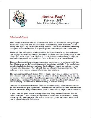 Abraca-Poof February 2017 by Brian T. Lees