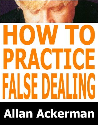 How To Practice False Dealing by Allan Ackerman
