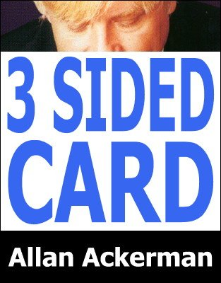 Three Sided Card by Allan Ackerman