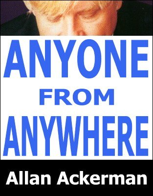 Anyone from Anywhere by Allan Ackerman