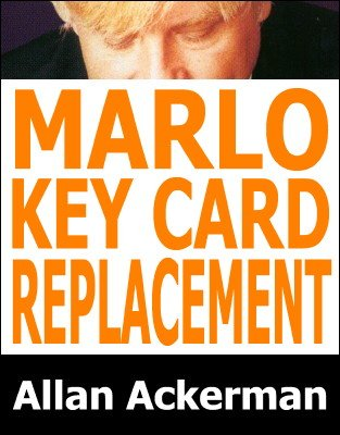 Marlo Key Card Replacement by Allan Ackerman