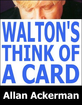 Roy Walton's Think of a Card by Allan Ackerman