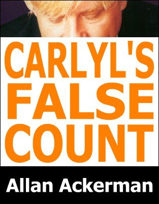 Carlyle's False Count by Allan Ackerman