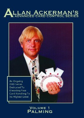 Advanced Card Control Volume 1: Palming by Allan Ackerman