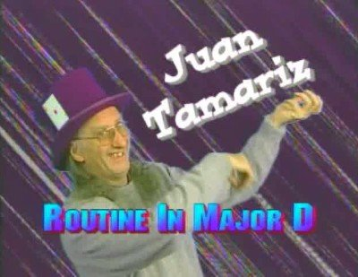 Routine in Major D by Juan Tamariz