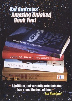 Amazing Unfaked Book Test by Val Andrews