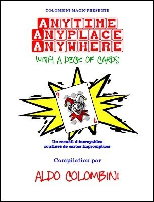 Anytime Anyplace Anywhere (French) by Aldo Colombini