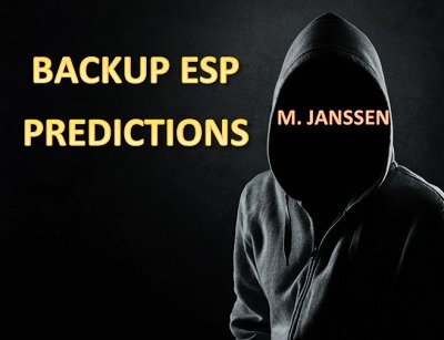 Backup ESP Predictions by Maurice Janssen