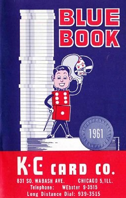 Blue Book 1961 by KC Card Co