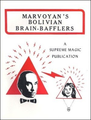 Bolivian Brain Bafflers by Marvoyan