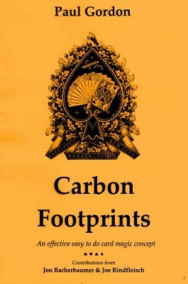 Carbon Footprints by Paul Gordon