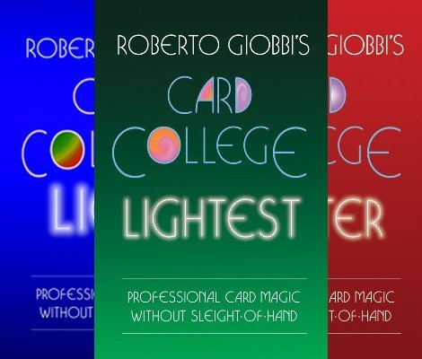 Card College Light Trilogy by Roberto Giobbi