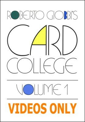 Card College 1: Videos Only by Roberto Giobbi