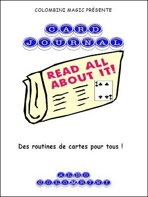 Card Journal (French) by Aldo Colombini