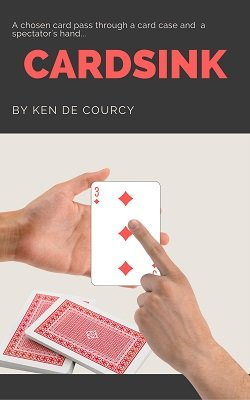 Cardsink by Ken de Courcy