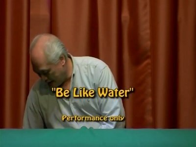 Be Like Water (performance only) by Curtis Kam