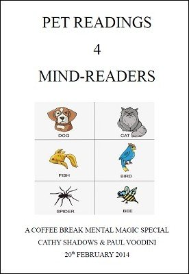 Coffee Break Mental Magic: Pet Readings for Mind-Readers by Cathy Shadows & Paul Voodini