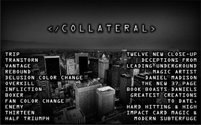 Collateral by Daniel Madison