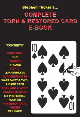 Complete Torn and Restored Card Ebook by Stephen Tucker