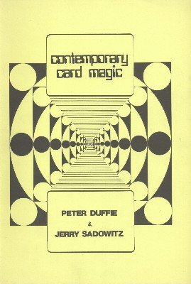 Contemporary Card Magic by Peter Duffie & Jerry Sadowitz