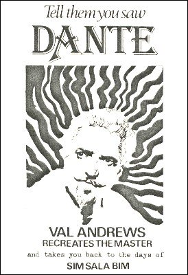 Tell Them You Saw Dante by Val Andrews