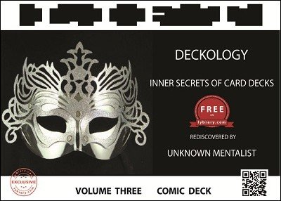 Deckology Volume 3: Comic Deck by Unknown Mentalist